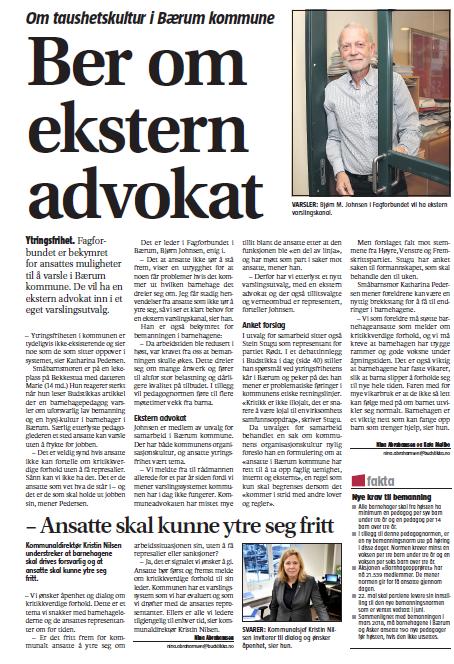 lønnsforhandlinger 2018 kommune ansatt